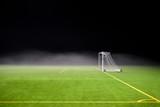 fog on a soccer field