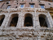 Quadro Rome, Theater of Marcellus, ancient structure used as the foundation for an apartment building