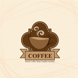 coffee shop cafe logo symbol sign graphic object