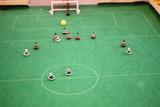 Subbuteo calcio da tavolo partita a calcio tra squadre