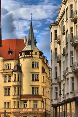 Prague urban scenic, Czech Republic