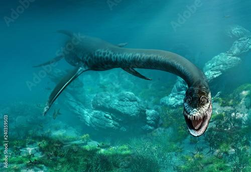 Styxosaurus 3D illustration