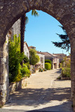 Picturesque tourist attraction of the village of Pujols, Lot-et- - 240381189