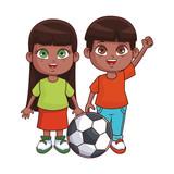 Cute kids cartoon