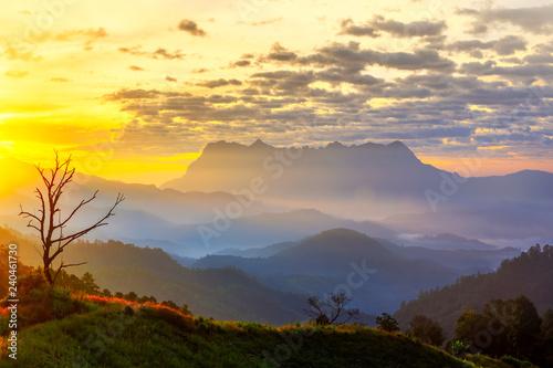 obraz lub plakat Doi Luang Chiang Dao Mountain Chiang mai Thailand