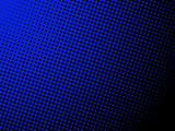 A nice halftone background, blue to black gradient. Put your text with a fancy font to create a comic strip cartoon animation.