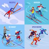 Winter Sports 2x2 Design Concept