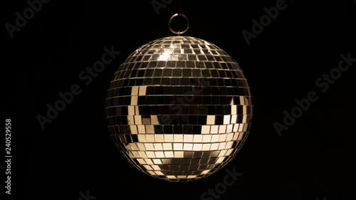 obraz lub plakat disco ball for dancing in a disco club