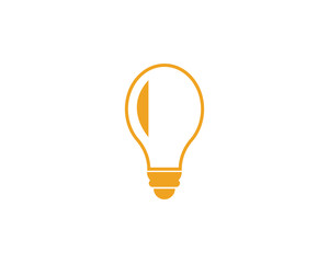 light bulb symbol icon © Elaelo