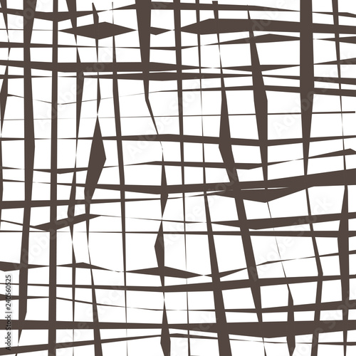Original background of abstract intersecting lines on a white background. - 240560525