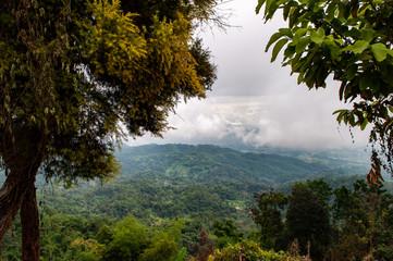 Thailändische Berglandschaft in Chiang Rai © marc