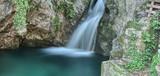 Waterfalls on the lake - 240571163