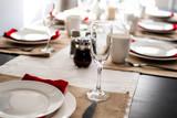 Elegant Dinner Breakfast Table