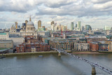 St. Paul's Cathedral, London skyline and the River Thames  © RichartPhotos