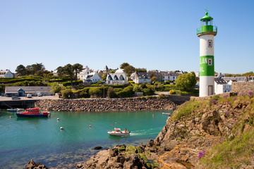 Village de Doëlan dans le Morbihan > Bretagne > France © Thierry RYO