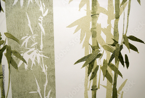Bamboo / Texture - Bamboo in green and tones