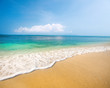 beach and beautiful tropical sea - 240668592