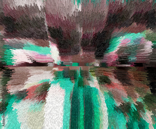 Color art and abstract design