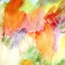 "Постер, картина, фотообои ""abstract hand drawn watercolor background"""