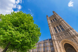 Historic architecture of the famous Westminster Palace © asiastock