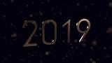 Neues Jahr 2019 Frohes Fest - 240722582