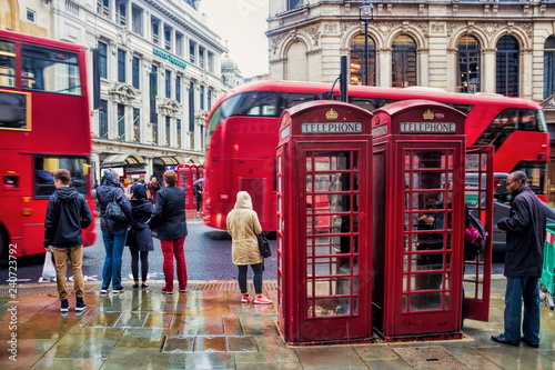 London im Regen
