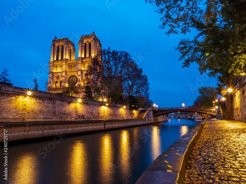 mata magnetyczna Cathedral Notre Dame de Paris