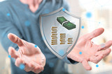 Concept of money protection - 240728717