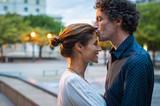 Fototapeta Fototapety miasto - Mature man kissing woman on forehead © Rido