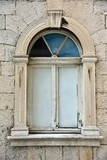 Trogir croatia city hall old window