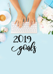 Top view 2019 goals list © neirfy