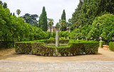 Garden of the Poets, Alcazar Palace, Seville - 240805358