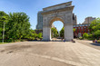Washington square arch in Manhattan, NYC