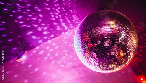 disco, ball, party, - 240839524