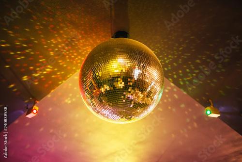 disco, ball, party, light, mirror,  - 240839538
