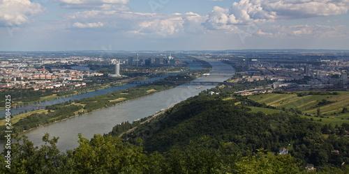 obraz lub plakat View of Vienna from Kahlenberg