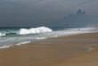 Quadro Rio de Janeiro, plaża Ipanema o poranku