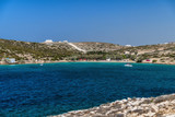 Agia Irini beach or Palm Beach on Paros island, Greece. - 240859708