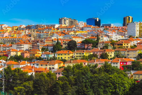Colorful houses - 240863338