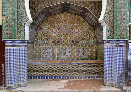 Water fountain | Fez, Morocco