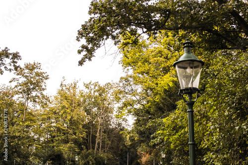 obraz lub plakat wilhelminenberg in Vienna Austria, lantern