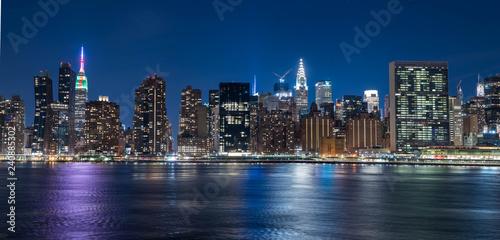 Beautiful night Image of New York City