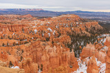 Scenic Bryce Canyon Utah in Winter