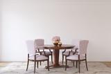 Dining-room interior.3d render. - 240895509