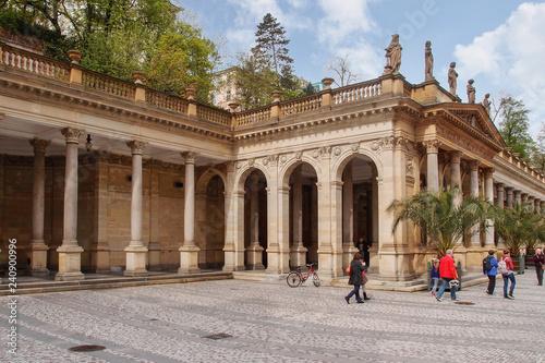 Mill Colonnade - Karlovy Vary, Czech Republic, Europe