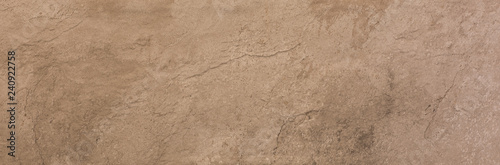 ceramic brown tile with rough abstract stone surface pattern - 240922758
