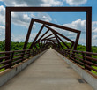 High Trestle Trail Bridge in Rural Iowa
