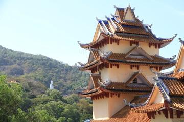 Buddhist Monastery in Vung Tau, Vietnam