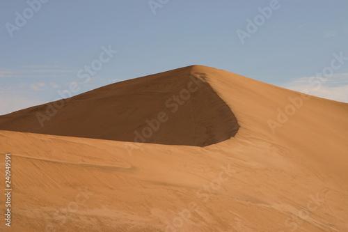 Sand dunes Swartkopmund Namibia
