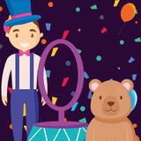 cute bear teddy with ring - 240953356